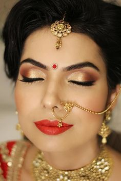 Portfolio of Pooja Sonik Hair and Makeup