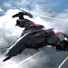 ArtStation – Anthony P Space Ship Concept Art, Concept Ships, Concept Cars, Spaceship Art, Spaceship Design, Futuristic Art, Futuristic Technology, Space Fighter, Fighter Jets