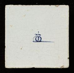 Granaatappel 1650-1700 126x127x8 mm
