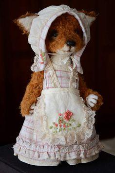 Cute Fox Alison by By Evgeniya Sidorenko | Bear Pile