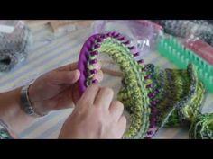 BORDO CAPPELLO a mano con telaio tondo - YouTube