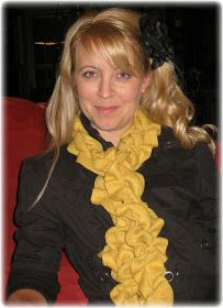 Kammy's Korner: DIY Ruffle scarf from the dollar store