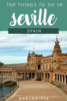 What do do in Seville (+restaurant & hotel tips), TRAVEL, Planning on visiting Seville, Spain? Don't miss all these top things to do in Seville. You'll also find hotel and restaurant tips in this travel guide. Camping Europe, Europe Travel Tips, European Travel, Travel Guides, Travel Destinations, Travel Abroad, Travel Packing, Travel Bag, Travel Hacks