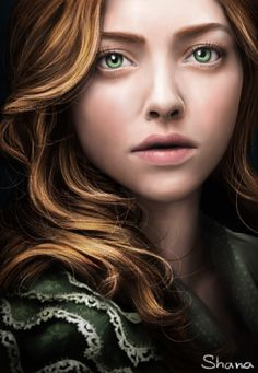 """""""Amanda Seyfried as Cosette in Les Miserables"""" by ShanaGourmet. Look at how realistic this is. LOOK AT IT."""