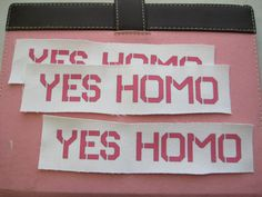 "a rebuttal to ""no homo"" (SO MUCH HOMO!) $4.14"
