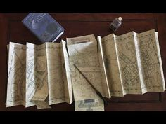 Marauder's Map FULL SIZE Replica: 8 Steps (with Pictures)