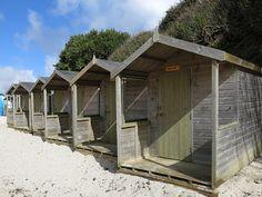 ~ Swanpool beach huts ~ Cornwall ~ England ~