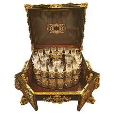 Extraordinary French Gilt Bronze-Mounted Tantalus Set Service for 32, circa 1870 2