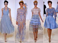 Temperley London's 1950′s Inspired S/S 2013 Collection. Perfect summer, french riviera style dresses