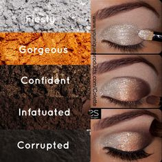 How to get that metallic look with eye pigments. www.youniqueproducts.com/dawnturpin