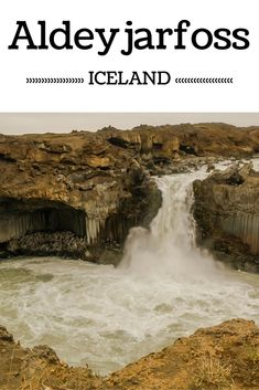 Aldeyjarfoss is a waterfall off the beaten track in North Iceland - Its features are quite unique and worth the drive - Click to open the guide with many photos and detailed information to plan your visit