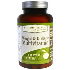 FoodScience, Weight & Diabetic Multivitamin, 90 Caplets