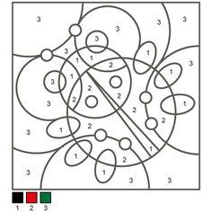 Раскраски по цифрам: Божья коровка Learn Arabic Alphabet, Learning Arabic, Book Activities, Numbers, Education, Printables, Spring, Art Rooms, Preschool
