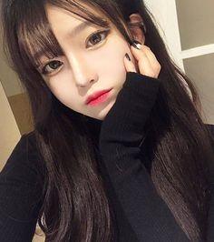 Image about girl in ulzzang by m on We Heart It Pretty Korean Girls, Korean Beauty Girls, Cute Korean Girl, Cute Asian Girls, Beautiful Asian Girls, Asian Beauty, Cute Girls, Uzzlang Girl, Girl Face
