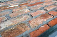 Mix klasyczny, stare cegły, retro cegła, płytki z cegieł