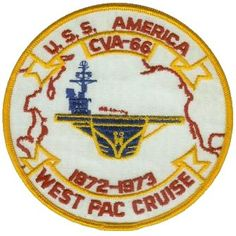 USS America (CVA-66) West PAC Cruise 1972 - 1973