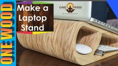 How to Make a Wooden Laptop Stand and learn woodworking