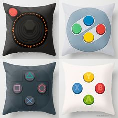 Geek & Gamer Pillows http://geekxgirls.com/article.php?ID=6072
