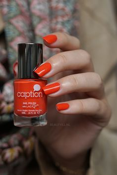 Slay on Slayer Red Manicure, Manicures, Caption Nail Polish, Young Nails, Nail Design, Slay, Captions, Nail Colors, Swatch