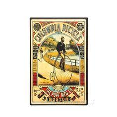 Placa Madeira Bicicleta - Machine Cult | A loja das camisetas de carro e moto