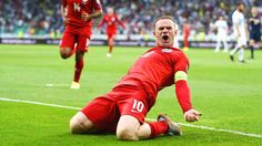 England captain Wayne Rooney was presented with a golden boot for breaking the national scoring record prior to his side's 2016 European Championship qualifier against Estonia at Wembley on Friday.The Manchester United striker was handed the boot by 77-year-old Bobby Charlton, star of Eng