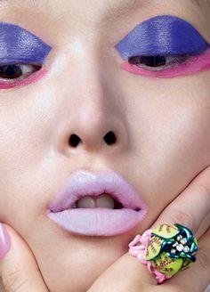 Cartoon Girl Magazine   Vogue China February 2016 Model   Sung Hee Kim Photographer   David Slijper