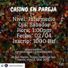 #Repost @sonrumbero with @repostapp  @sonrumbero te invita.... Ven y aprende con nosotros. #salsacasino #SalsaCasinoVenezuela #salsa #clasesdesalsa #hastacuandolarueda #mejoratucasino #clasesdebaile #sonrumbero  #SalsaCasinoVenezuela #Salsa #SalsaCasino #Timba #BailaSalsaCasino #SalsaDance #DanceSalsa #DanceSalsaCasino #SiBailasSalsaCasinoEstasAqui
