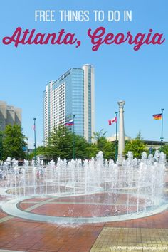 As you head out in the summer heat looking for a fun adventure, keep in mind these Free Things To Do In Atlanta. The heart of Georgia and the home of the G