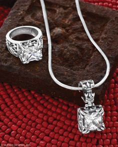 Perfect for a New York kind of night. Cubic Zirconia, Sterling Silver. CLICK ON THE IMAGE TO SHOP
