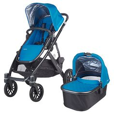 Uppababy Vista 2015 Pushchair and Carrycot, Georgie http://www.parentideal.co.uk/john-lewis---uppababy-vista-pushchair.html