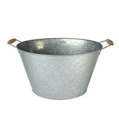 Artland Oasis Oval Party Tub with Stand, 20 gallon, Galvanized: A large beverage tub with a vintage fashion sense for chilling a large Quantity of beverages. Oasis Oval Party Tub With Stand; Wood Tub, Metal Tub, Wine Chillers, Beverage Tub, Galvanized Metal, Image House, Boutique, In This World, Steel