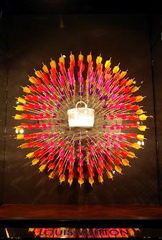 Louis Vuitton display