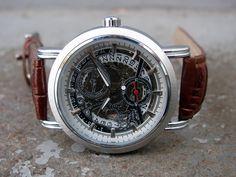 Herrklocka Winner - Circle (brun) #winner #skeleton #armbandsur #klocka #klockor #herrklocka #herrklockor #runns #watch #watches