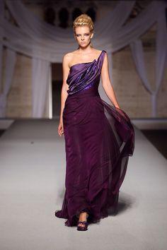 Abed Mahfouz Haute Couture gown #purple
