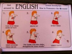 Funny guide: How to pronounce the TH sound in English