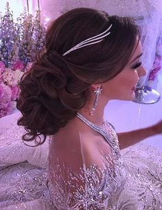62 Romantic Wedding & Bridal Curly Bun Hairstyles for 2018. See in this post the most romantic and sexy wedding and bridal bun and updos hairstyles trends for 2018. If you are finding the perfect styles of wedding haircuts to sport on your wedding then we are here to make this task much easier for you in this year. Have a look through our top collection of bridal updos for 2018. #weddinghairstyles