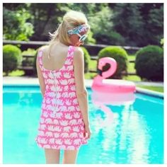 Lilly Pulitzer Pink Delia Tusk In Sun 2