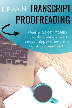 Transcript proofreading helped me to make money online when I lost my job and had to work at home! Learn how you can use your 'eagle eye' to make money online! Earn Extra Money Online, Ways To Earn Money, Make Money Fast, Make Money From Home, Money Tips, Money Hacks, Online Side Jobs, Legit Online Jobs, Lost My Job