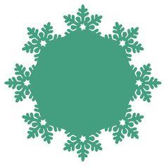Silhouette Design Store: snowflake doily
