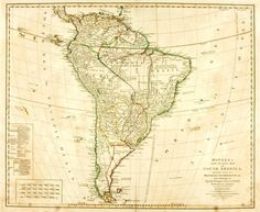 L. Delarochette, cartographer. Bowles's New Pocket Map of South America Divided into its Provinces, Governments, &c. and Exhibiting the Spanish, Portuguese, French & Dutch Settlements Therein, According to D'anville, by L. Delarochette. London: Carrington Bowles, [n.d., circa 1794?].
