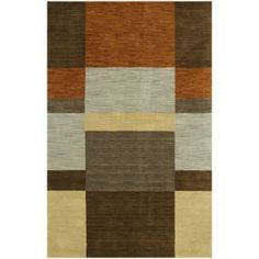 BASHIAN Contempo Collection Color Blocks Multi 7 ft. 6 in. x 9 ft. 6 in. Area Rug-S176-MULTI-8X10-ALM181 at The Home Depot