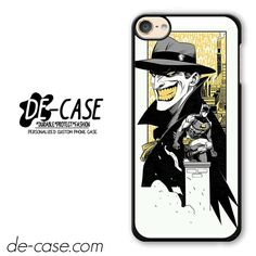 Batman & Joker Comic DEAL-1403 Apple Phonecase Cover For Ipod Touch 6
