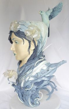 A Threadless-inspired cake by Elizabeth Marek of Artisan Cake Company. Freaking amazing.