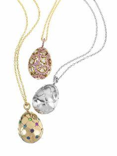 Faberge Beautiful Easter eggs pendant (3)