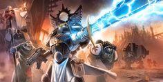 Warhammer 40K tribute with Black Templars :D by pierreloyvet