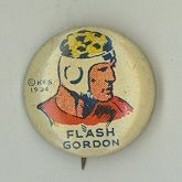 Flash Gordon Pinbacks