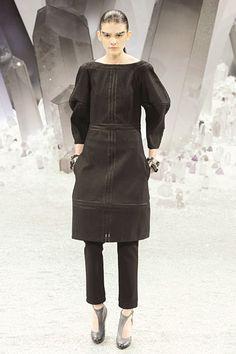 3-D sleeves at #Chanel.  #Paris #FashionWeek