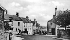 Old photograph of Rodger Street in Anstruther, East Neuk of Fife, Scotland. I was raised in this village on the East coast
