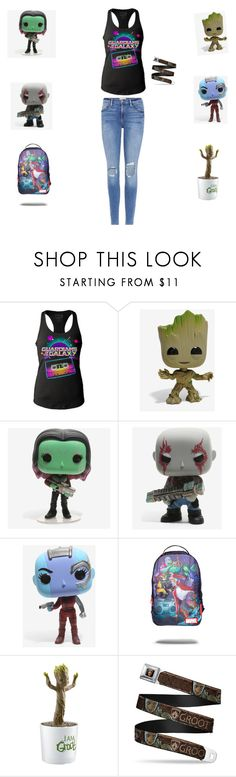 """Guardians of the galaxy fan!"" by percabeth0712 on Polyvore featuring Funko, Marvel Comics and Frame"