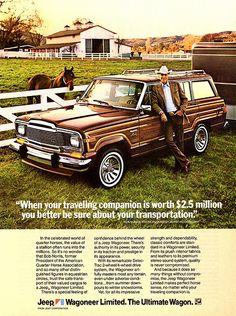 1983 Jeep Wagoneer Limited Ad 태양성바카라 와와바카라 ☆▶ http://lucky417.com/ ◀☆ 와와바카라 태양성바카라
